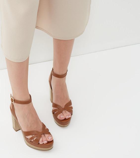 zapatos de plataforma con tacon