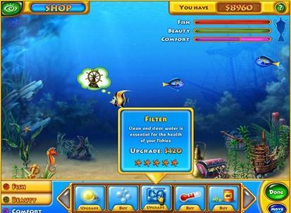 Game Akuarium Ikan: Fishdom 2