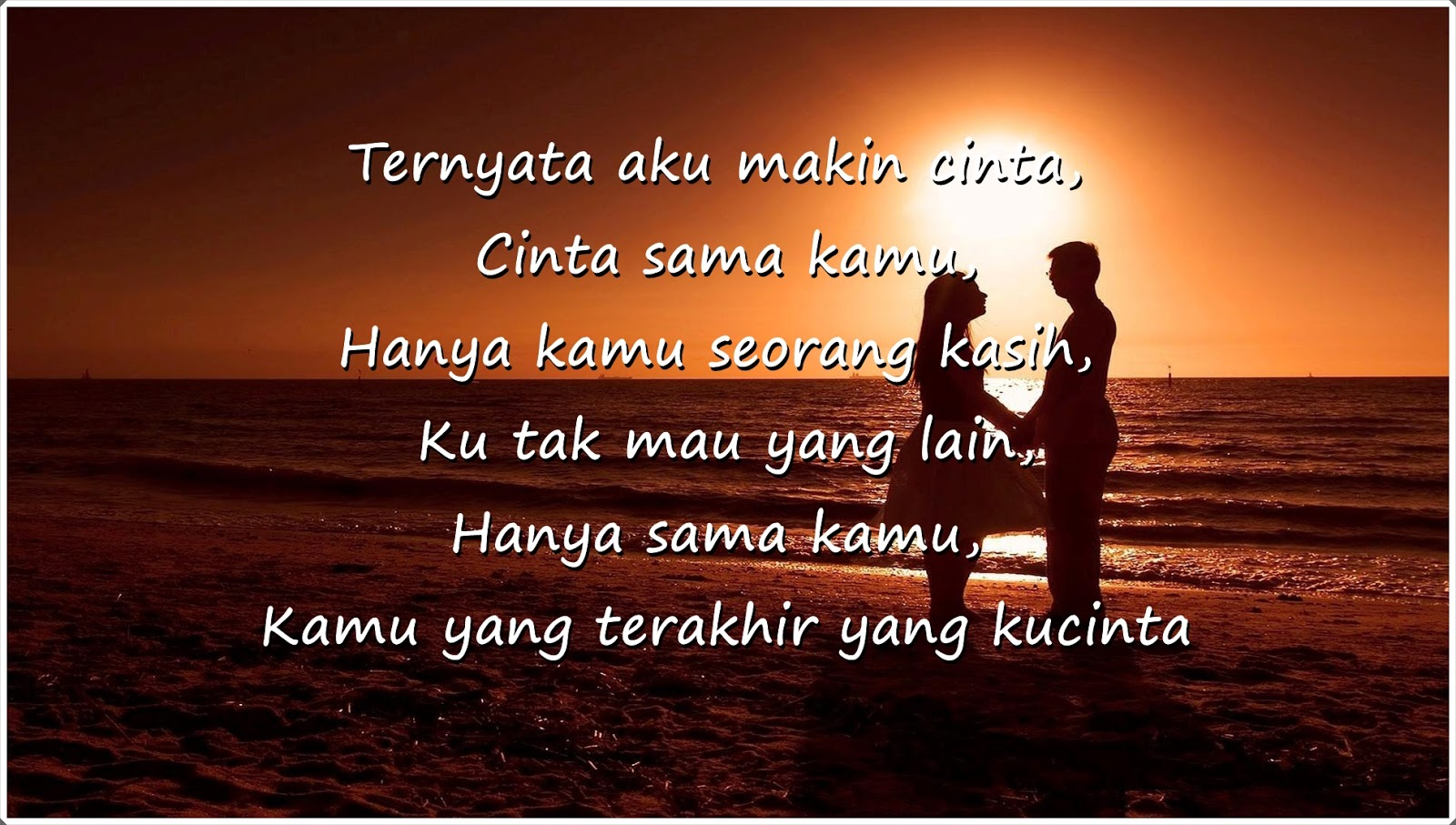 Lirik Lagu Tentang Cinta Paling Romantis Kata Cinta Yang Menyentuh Hati Jdsk
