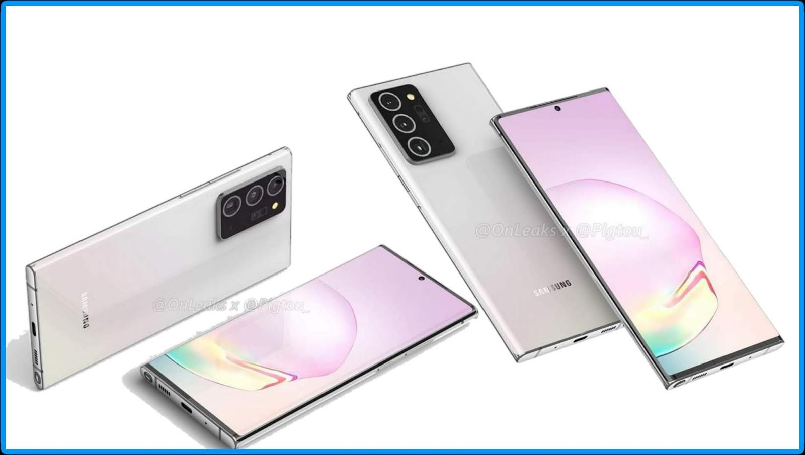 مواصفات Galaxy Note 20 Plus