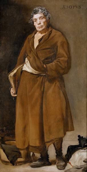 Диего Веласкес - Эзоп (ок.1638)