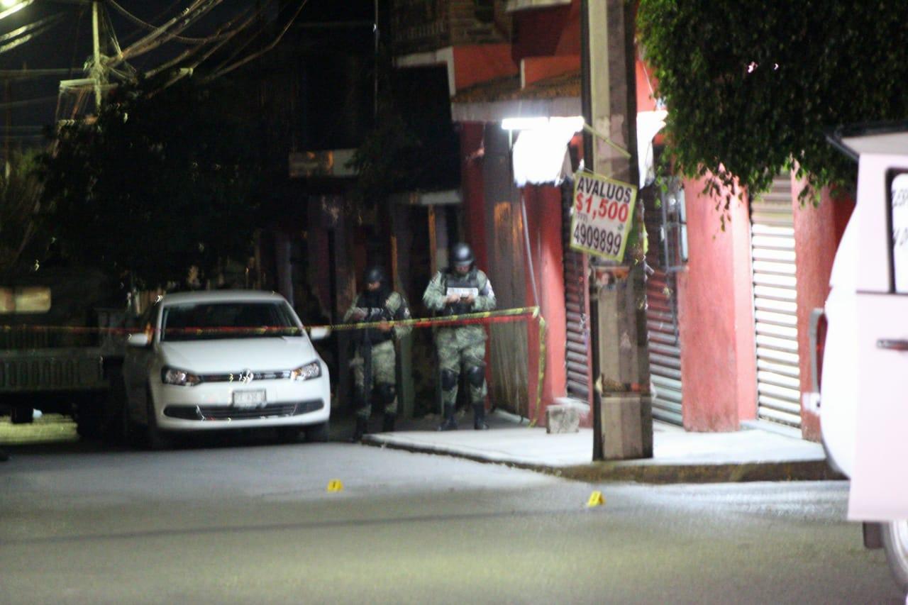 Sicarios atacan a Policías en Cuernavaca; Morelos, 1 elemento muerto y otro herido además de un civil