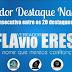 Flavio Eres recebe o Título de Vereador Destaque Nacional pela 3ª Vez Consecutiva.