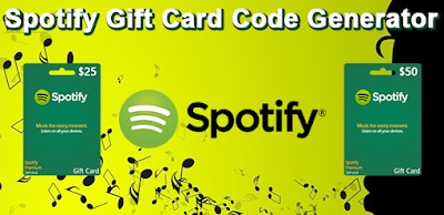 Our Free Spotify gift card code generator will generate codes for $10, $25 and $50 gift cards. It's completely free to use and safe.