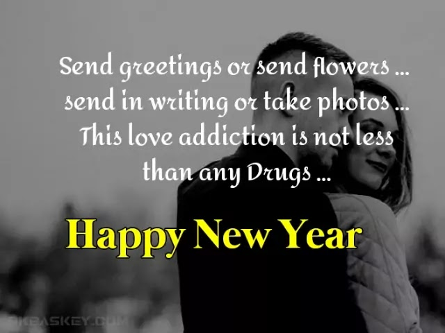 New Year Wishes for GF in Long Distance |  New Year Shayari For Girlfriend in Hindi |