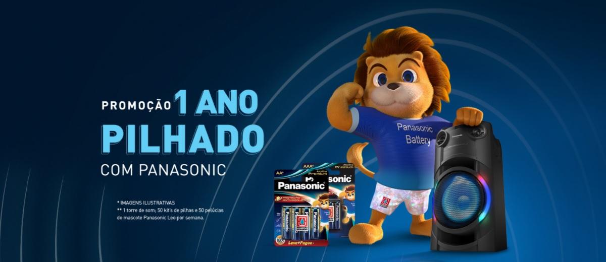 Promoção Panasonic 1 Ano Pilhado