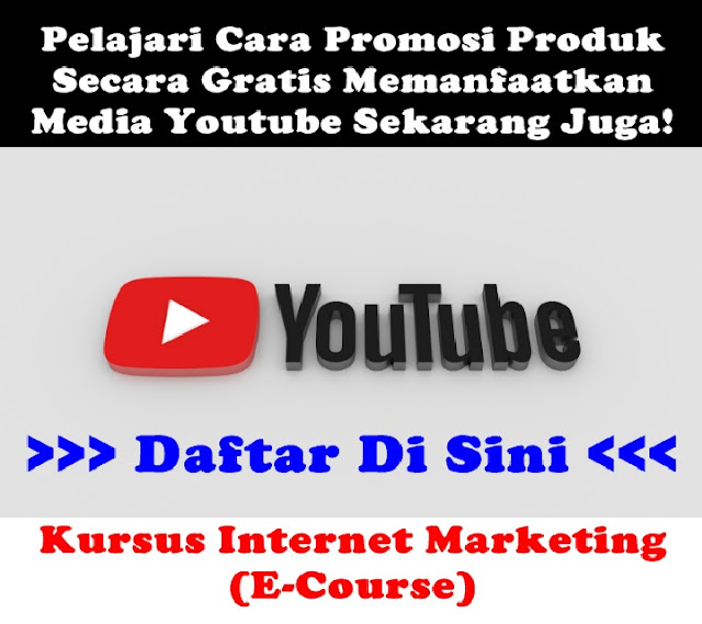 e-Course Kelas Online YouTube Marketing
