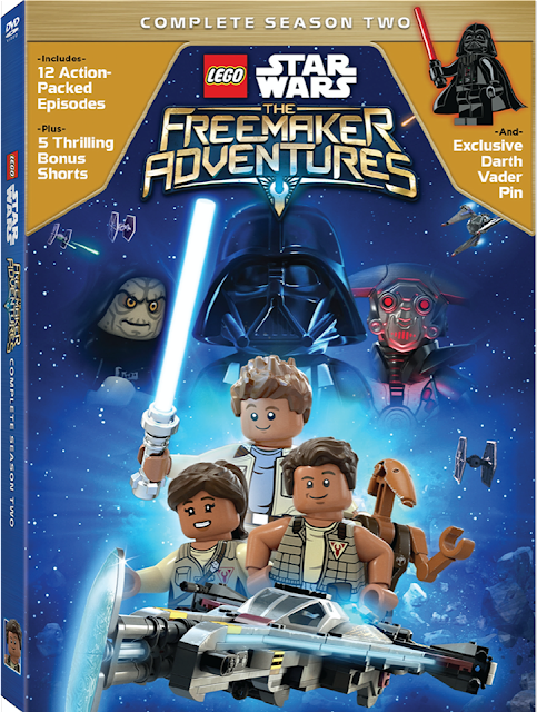 Star Wars LEGO Freemaker Adventures Season 2 / Star Wars: The Last Jedi Easter Basket - ends 3/21!