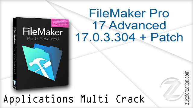 FileMaker Pro 17 Advanced 17.0.3.304 + Patch