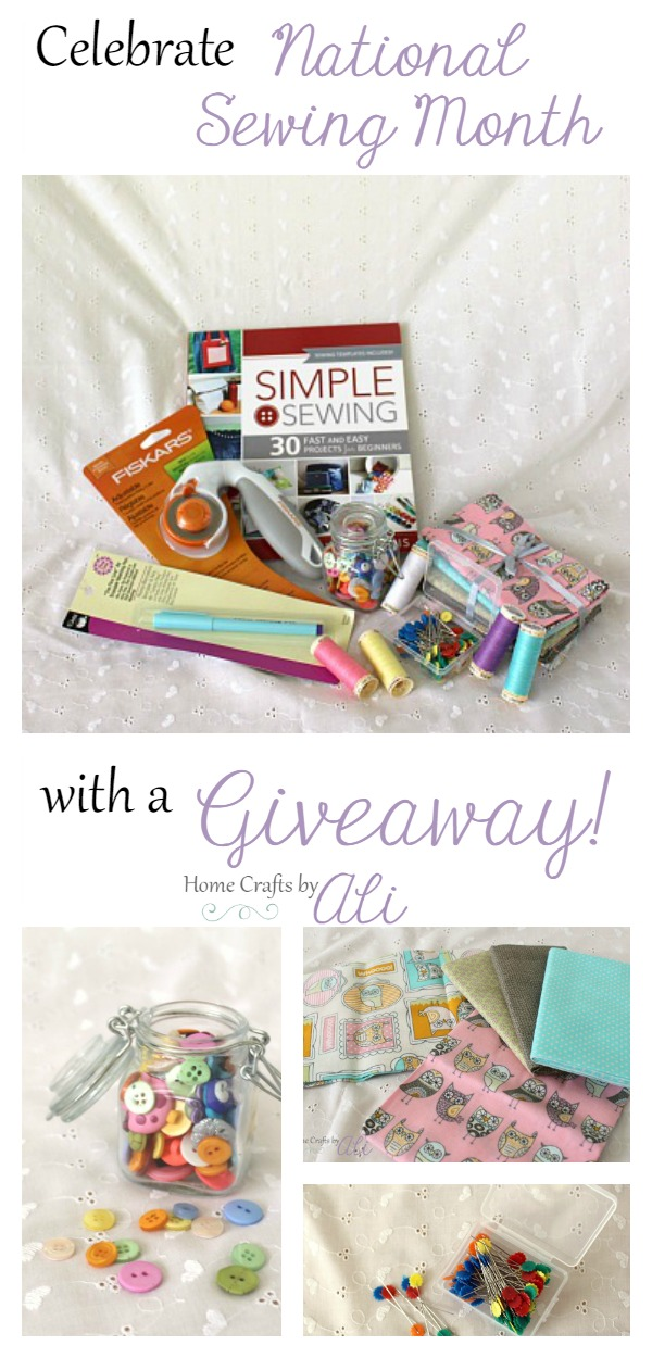 sewing supply giveaway national sewing month 2016 enter to win
