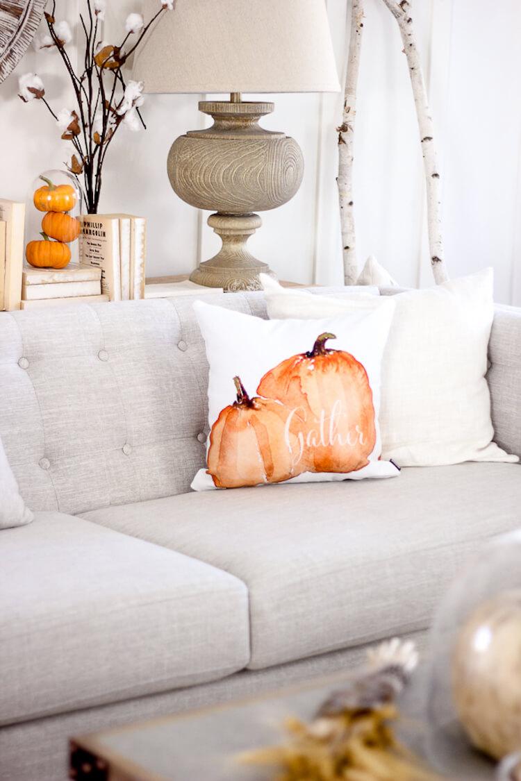 10 Ideas para decorar tu casa en otoño. Decorar con ramas secas, o ramos de algodón