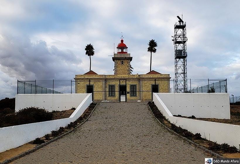 Farol da Ponta da Piedade no Algarve