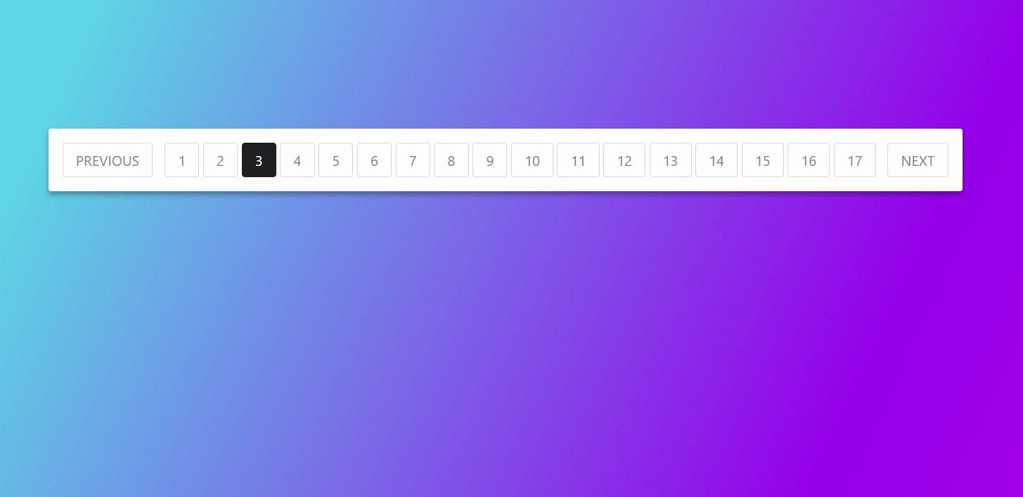 How To Create The Pagination Using HTML and CSS