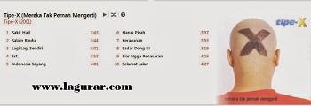 http://www.lagurar.com/2018/05/download-kumpulan-lagu-tipe-x-album-mp3-terbai-terbaru-terpopuler-lengkap.html