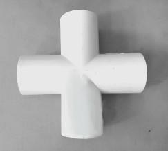 sambungan pipa cross cabang 4