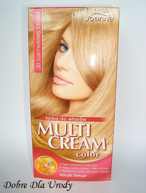 Dobre Dla Urody Multi Cream Color Joanna I Moj Karmelowy Blond