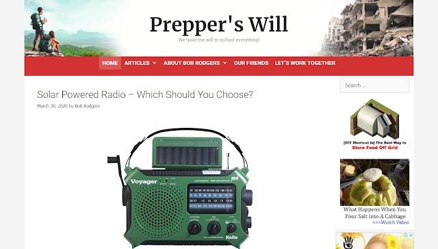 Prepper's Will