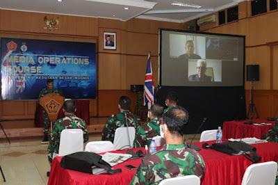 Penutupan Pelatihan Media Operasi 2021