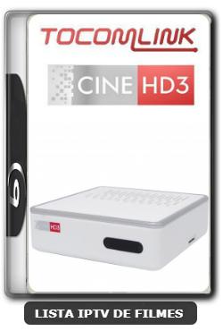 Tocomlink Cine HD 3 Nova Atualização Satélite SKS 107.3w ON V1.008 - 29-12-2019