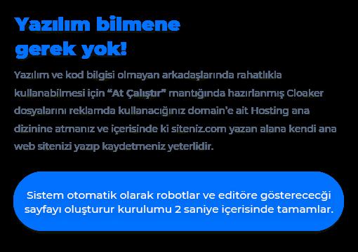 Facebook Cloaker Yazılımı