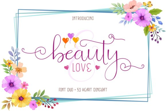 Beauty And Love Duo Font