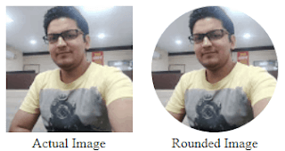 How to make rounded image using CSS