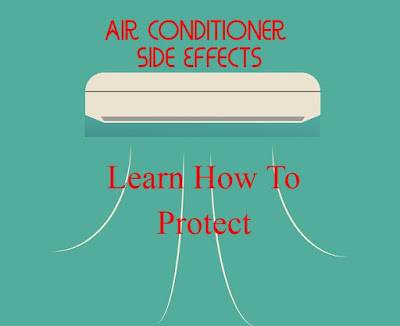 SIDE EFFECTS OF AIR CONDITIONER ON HEALTH AND SKIN