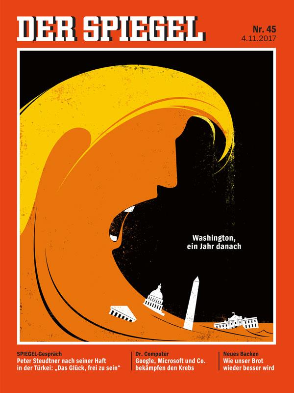 Tech media tainment for Spiegel cover juni 2018