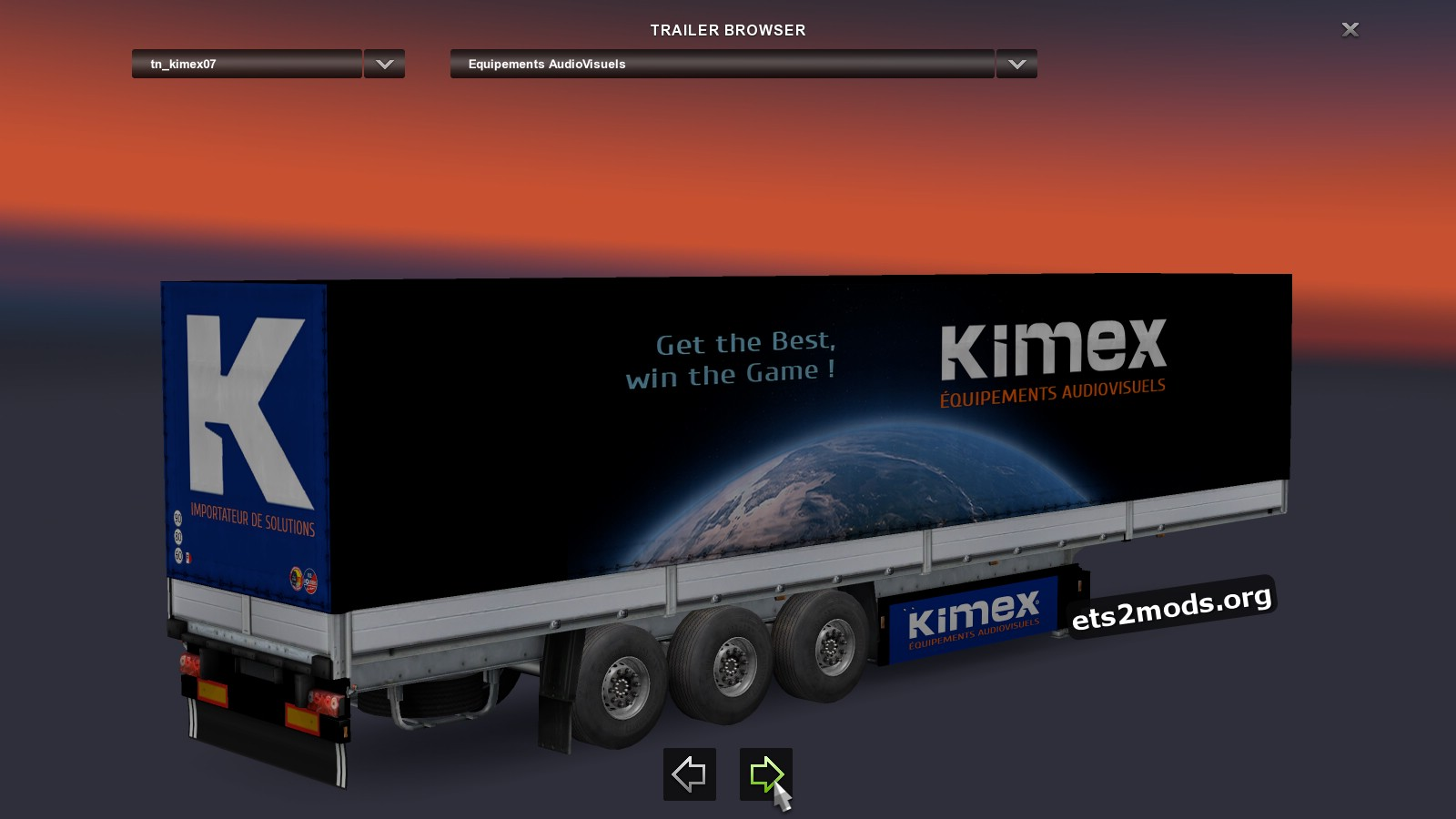 KIMEX INTERNATIONAL Trailer Pack