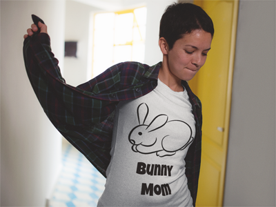 Spiffy Pet T-Shirts For Rabbit Lovers