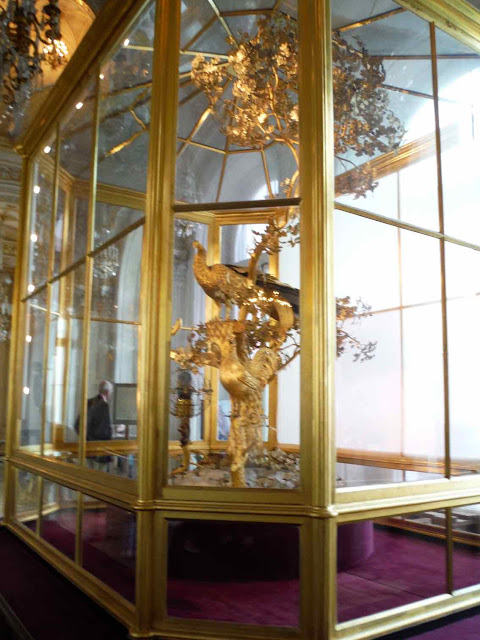 The Peacock Clock at the Hermitage Museum