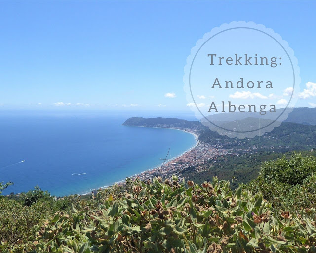 Marina di Andora - Albenga sentiero Liguria
