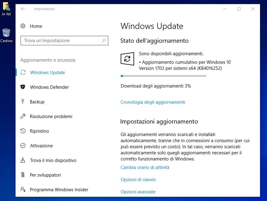 Windows 10 Creators Update: Build 15063.13 (Slow e Release) - Build 15063.14 (Fast) 2 HTNovo