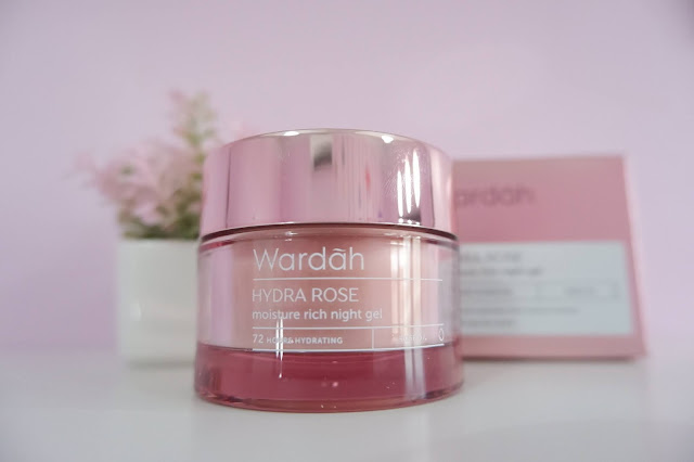 review Wardah Hydra Rose Moisture Rich Night cream