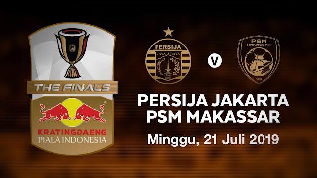 Harga tiket online persija vs psm makassar di final piala indonesia leg pertama