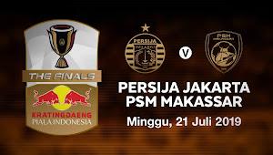 Harga Tiket Persija vs PSM Makassar - Leg Pertama Final Piala Indonesia