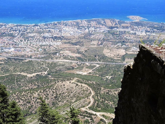 North Cyprus Day Trip: Views from St. Hilarion Castle