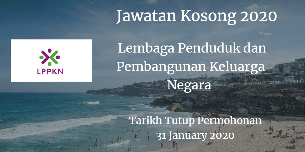 Jawatan Kosong LPPKN 31 January 2020