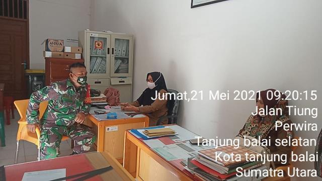 Jalin Silaturahmi, Personel Jajaran Kodim 0208/Asahan Laksanakan Komunikasi Sosial Dengan Perangkat Kelurahan