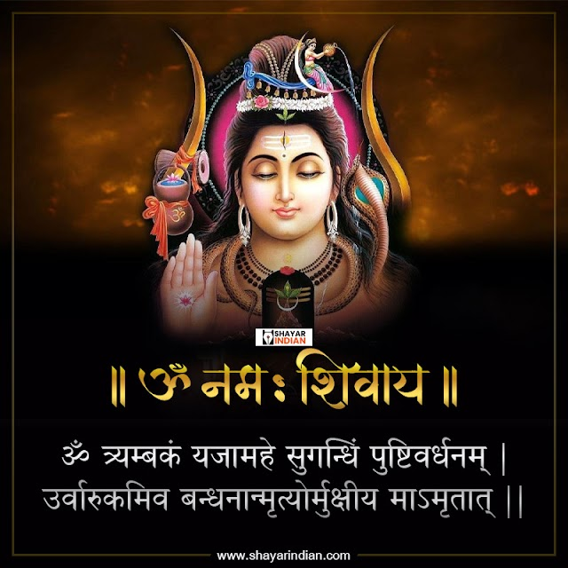 महा मृत्युंजय मंत्र - Maha Mahamrityunjay Mantra Image