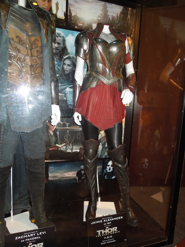 Jaimie Alexander Thor Dark World Sif costume
