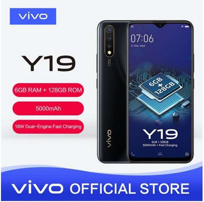 Vivo Y19 Ram 6GB/128GB