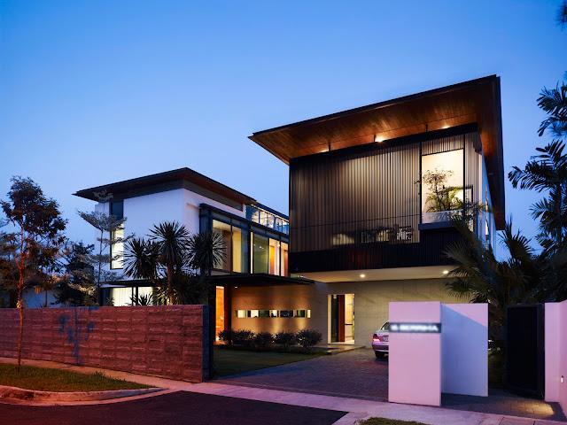 modern asian houses design