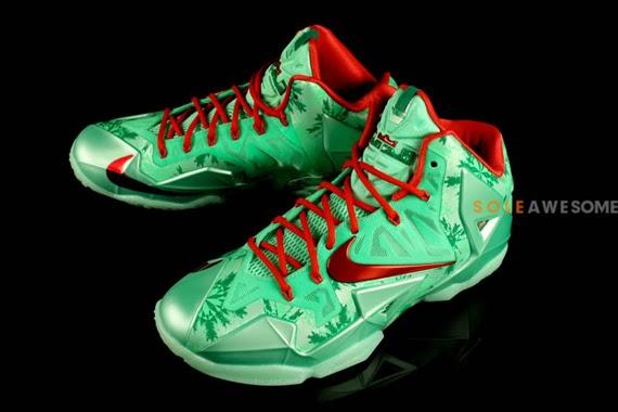 Lebron 11 Christmas Outfit Nike LeBron 11 ...