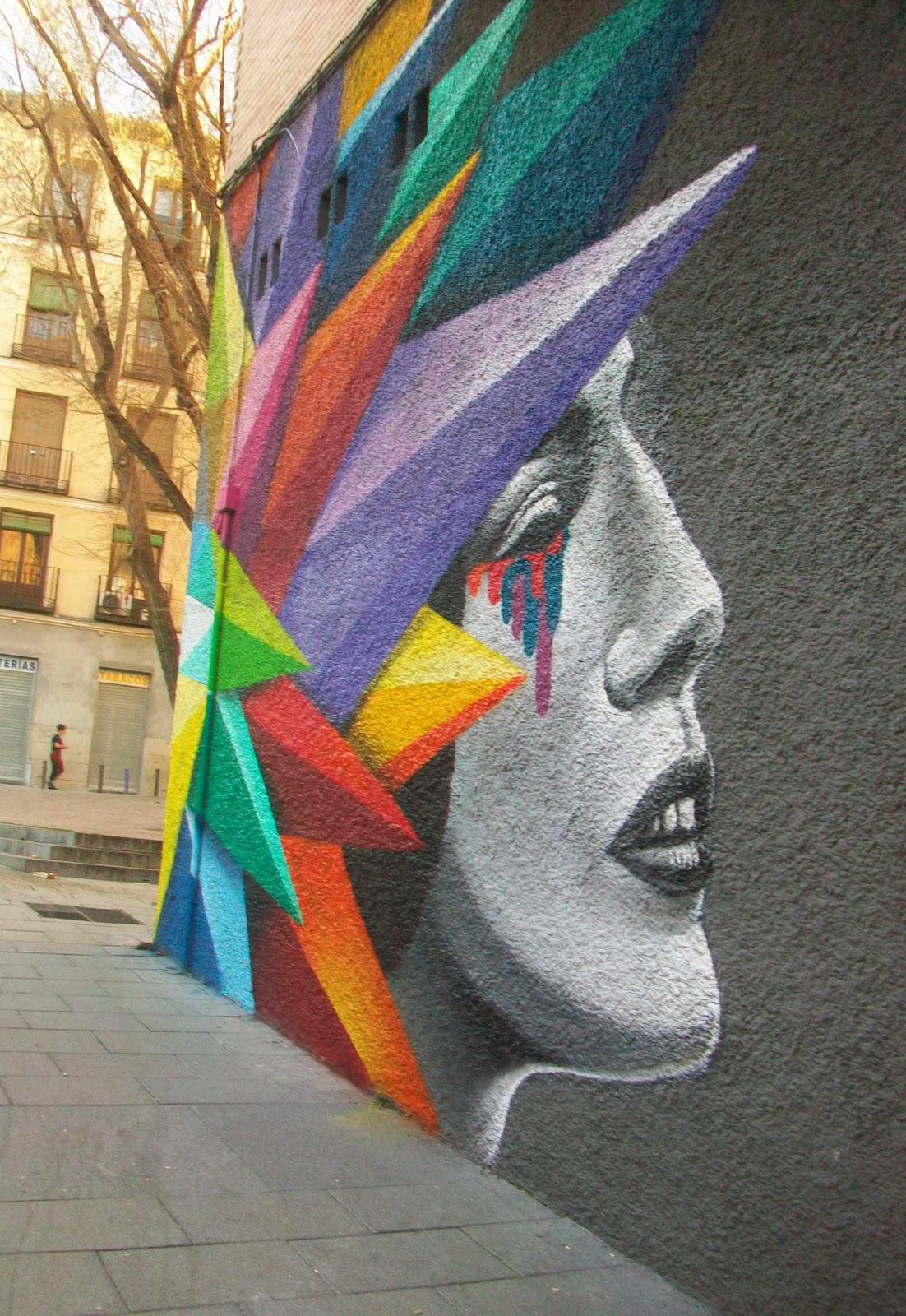 Arte callejero Madrid