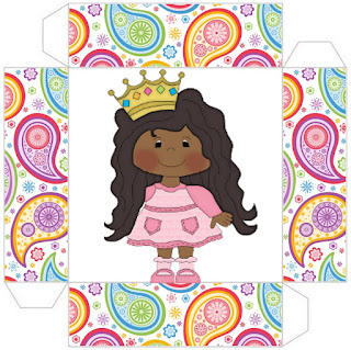 Afro Princess: Free Printables Boxes.