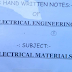 Engineering Electrical Materials Hand Written Lecture Notes PDF - Study Material Download
