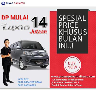 Promo Daihatsu Luxio Spesial Akhir Tahun 2017