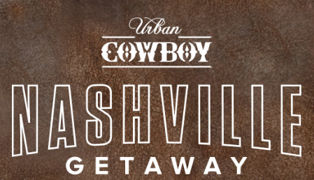 Buckle is giving away a trip for two to Nashville, Tennessee, complete with airfare and hotel,a  wardrobe makeover, attraction passes, gift cards and lots more!