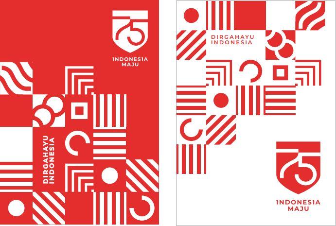 Logo Hut Ri 75 Vector - Download Kumpulan Gambar